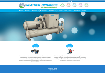 Weather Dynamics - Website Design Company in Coimbatore